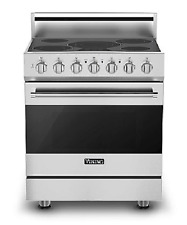 "Viking 30"" Freestanding Electric Range - Rver33015Bss"