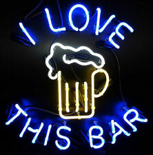"""New I Love This Bar Cub Party Light Lamp Decor Neon Sign 17""""x14"""""""