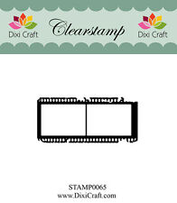 Dixi Crafts Clearstamp Stamp FILMSTRIP DCSTAMP0065