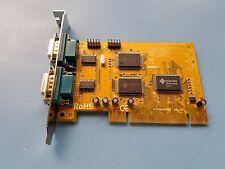 SUNIX UNIVERSAL PCI DUAL RS-232 SERIAL COMMUNICATION BOARD