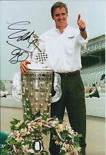 Eddie CHEEVER SIGNED Indianapolis Speedway Autograph 12x8 Photo AFTAL COA