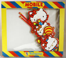 RARE VINTAGE 70'S HELLO KITTY MOBILE HANGING MADE IN GREECE GREEK NEW MIB !