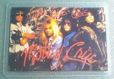 1987 MOTLEY CRUE BACKSTAGE PASS GIRLS GIRLS GIRLS BAND PASS