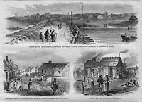 NEGROES HISTORY TRENT RIVER SETTLEMENT OPPOSITE NEWBERN NORTH CAROLINA NEGRO HUT