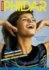 7 Phildar Knitting Magazines, Issues # 127, 129, 149, 166, 224, 268, 269