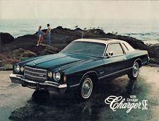 DODGE CHARGER se 1978 USA MARKET FOLDOUT SALES BROCHURE 318 360 400 V8