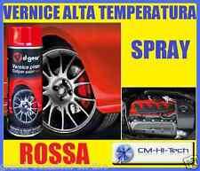 VERNICE ALTA TEMPERATURA! COL ROSSO PER PINZA FRENO PUNTO GT ALFA 156 GTA BMW M3