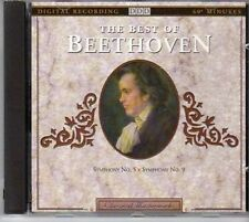 (CJ604) The Best of Beethoven, Symphony No 5 & 9 - 1992 CD