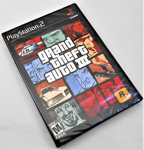 PS2 Grand Theft Auto III - Brand New Factory Sealed