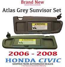Genuine OEM Honda Civic Driver/Passenger Side Dark Atlas Gray Sunvisor 2006-2008