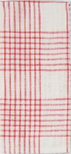 Kay Dee Designs Tea Towel Beach House Inspirations Coral Plaid 100% Cotton A8602