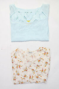 Maeve Anthropologie Madewell Womens Blouses Tops Blue Size 16 XL Lot 2