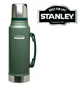 1.4L STANLEY FLASK GREEN STAINLESS STEEL DRINKS VACUUM BOTTLE THERMOS COFFEE