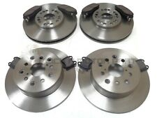 FRONT & REAR BRAKE DISCS AND MINTEX PADS SET NEW FOR LEXUS IS200 IS300 1999-2006