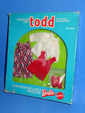 Vintage Tutti TODD European HUEBSCH ZUR SCHULE Handsome For School 7484 MIB NRFB