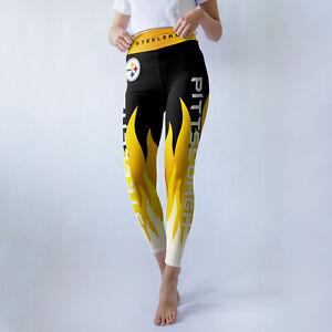 Pittsburgh Steelers X-Large Women's Leggings New