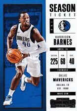 HARRISON BARNES 2017-18 PANINI CONTENDERS Basketball cartes à collectionner, #46