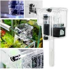 120L/H 220V Biological Aquarium Water Fall Hang On Slim Filter For Fish Tank