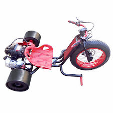 Wicked Fast Scooter X RED Drift Master Drift Trike Bike 49cc Gas Engine Go Kart