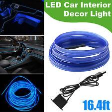 5m Auto Car Led Interior Atmosphere Wire Strip Light Decor Lamp Accessories Usb