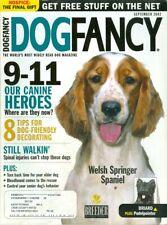 2002 Dog Fancy Magazine: Welsh Springer Spaniel/Briard/Pudelpoint er/9-11