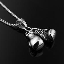 Double Fist boxing gloves Necklace For Men Hiphop Style chain Men Necklace