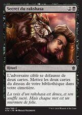 MTG Magic KTK - (4x) Rakshasa's Secret/Secret du rakshasa, French/VF