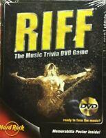 💿 RIFF: The Music Trivia (DVD 2005) Game Video Game Hard Rock Memorabilia NEW!!