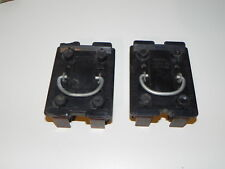 2 Vintage Wadsworth Fuse pull out blocks 1 Range and 1 Main & 4 Fuses 60 amp