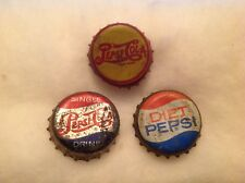 3 Different Pepsi Bottle Caps
