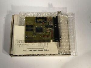 HERCULES MONOCHROM GRAFIKKARTE PC 8BIT ISA MDC V3 HGA