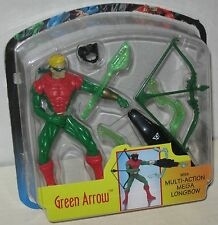 1997 Green Arrow Action Figure w/ Multi Action Longbow Kenner Blister Only