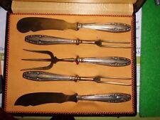 antik 800 Silber Besteck Fischbesteck im Kästchen