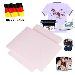100 Stk. A4 T Shirt Transferfolie Textilfolie für helle und dunkle Papier Stoffe