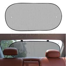 Black Car Rear Back Window Sunscreen Sun Shade Visor Cover Mesh Shield 50x100 CM