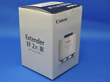 Canon Extender EF2x III  Super Telephoto Camera Lens  Japan Domestic Version New