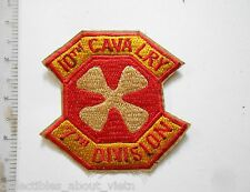 Patch_ 10TH CALVARY PATCH _ 7TH DIVISION