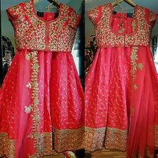 BOLLWOOD DESIGNER FULLY STITCHED FULL WORKED HEAVY LENGHA CHOLI READY TO WEAR