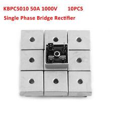 10x KBPC5010 50A 1000V Full Bridge Metal Single Phase Diode Bridge Rectifier GD