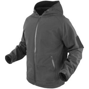 Condor Prime Softshell Jacket Mens Ranger Tactical Law Enforcement Graphite