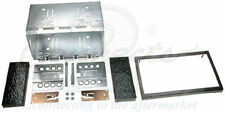 SKODA FABIA OCTAVIA CD RADIO STEREO DOUBLE DIN FACIA FASCIA PLATE KIT CT23SK02