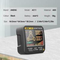 Smart Socket Tester Frequency Voltage Test Socket Detector Display Tool A1T9