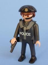 Playmobil POLICÍA SWAT OFICIAL NUEVO ESTILO figura arma Nuevo-City Life policía