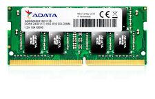 AData DDR4 4GB 2400 Mhz RAM Laptop SODIMM Brand New Memory Module AD4S2400J4G17B