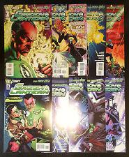 Green Lantern #1-10 Set (2011, DC) New 52 Run 1st Print 2 3 4 5 6 7 8 9