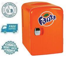 New Fanta Portable Mini Fridge Refrigerator Small Soft Drink Beverage Cooler