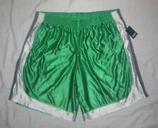 Nwt Mens Basix Concepts Green Athletic Shorts - size 4Xl - Super Silky Soft!