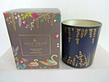 sara millar london patchouli,cedar,thyme soya wax candle 200g in jar - new/boxed