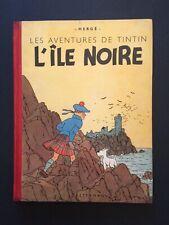 TINTIN - L'ILE NOIRE - N/B -  1942 -  A18 - BE+ (quasi TBE)