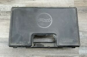Walther PPK/S Factory OEM Hard Case Box PPKS Manual & Lock